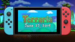 Terraria on Nintendo Switch