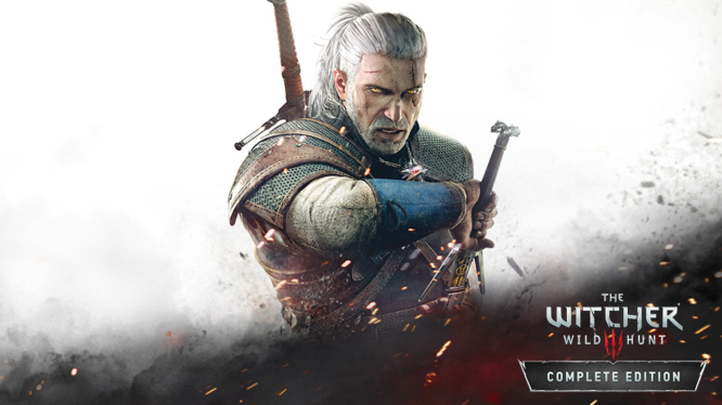 The WItcher 3 Complete Edition Nintendo Switch Keyart