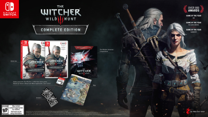 Witcher 3 tech specs, file size, price and physical goodies