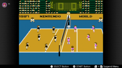 Volleyball NES Nintnedo Switch Online Screneshot