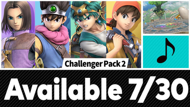 Super Smash Bros Ultimate Hero Challenger DLC