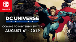 DC UNiverse Online Nintendo Switch release date banner