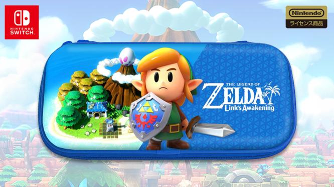 HORI Link's Awakening Zelda Switch Case