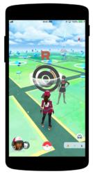 Team Rocket in Pokemon GO Screenshot