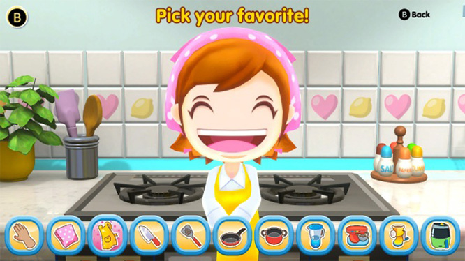 Cooking Mama Cookstar Screenshot Switch