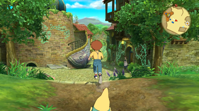 Ding Dong Dell Town in Ni No Kuni