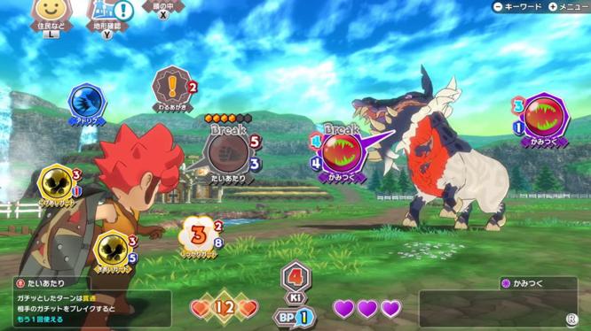 Little Town Hero screenshot UI