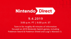 Nintendo Direct September 4th 2019