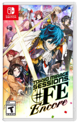 okyo Mirage Sessions #FE Encore Nintendo Switch Box art
