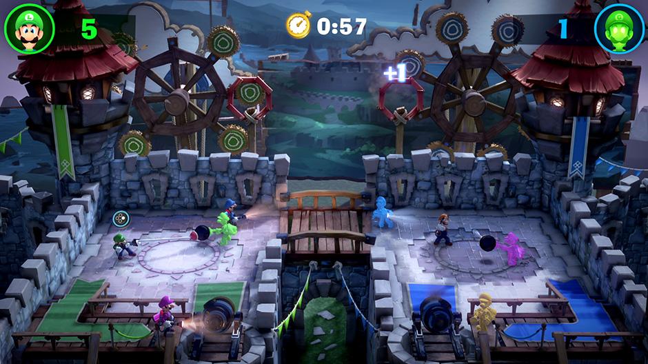 Cannon Barrage - Luigi's Mansion 3 ScreamPark