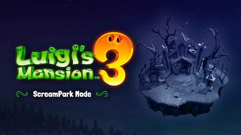 Luigi's Mansion 3 ScreamPark Multiplayer Minigames