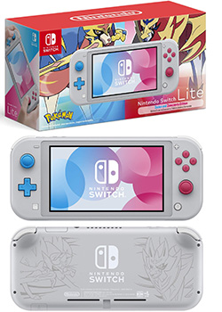 Nintendo Switch Lite - Zacian and Zamazenta Edition