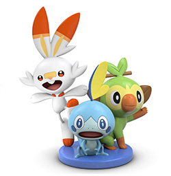 Pokémon Sword and Pokémon Shield Figurine Preorder Bonus