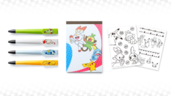 Pokémon Sword and Shield My Nintendo Rewards - Pens, Notepad and Decals
