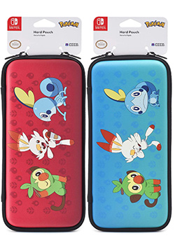 Pokémon Sword & Shield Nintendo Switch Hard Pouch by HORI