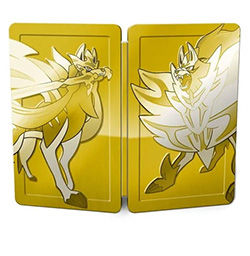 Pokemon Sword and Shield Gold Steelbook