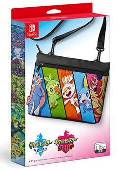 Sacoche Bag Pokemon Sword Shield for Nintendo Switch Lite