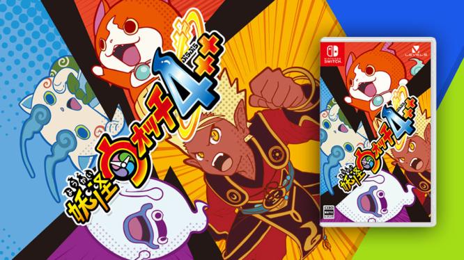 Yo-kai Watch 4++ Nintendo Switch
