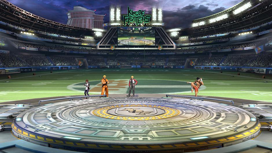 SMash Bros King of Fighter stadium