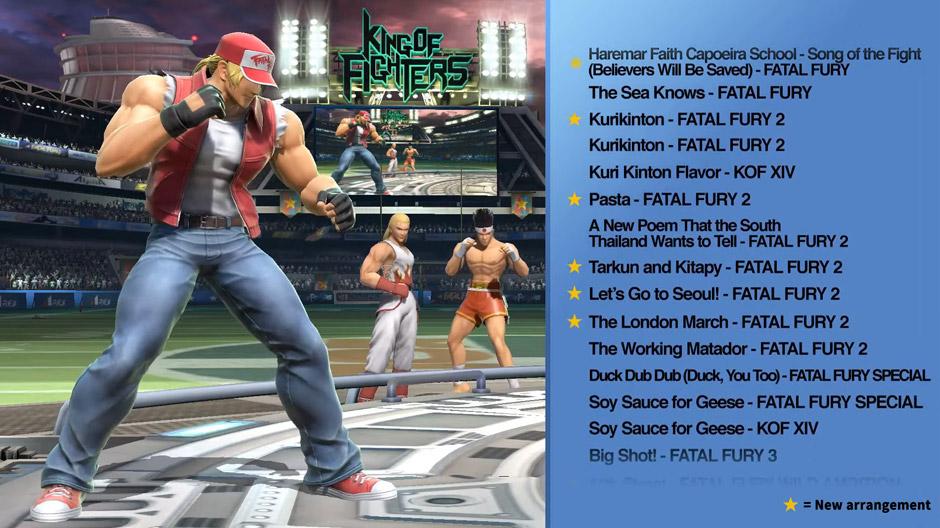 SNK Music Tracks Smash Bros