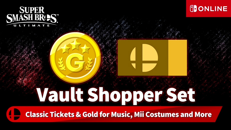Vault Shopper Set Smash Bros Ultimate Nintendo Online
