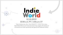 Nintendo Indie World Showcase December 2019