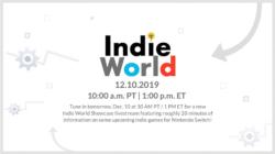 Nintendo Indie World Showcase December 2019