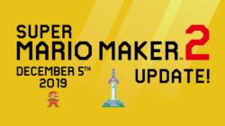 Super Mario Maker 2 Zelda Update December 2019