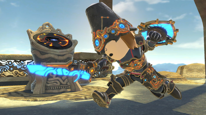 Smash Bros Ancient Soldier Gear - Zelda: Breath of the Wild