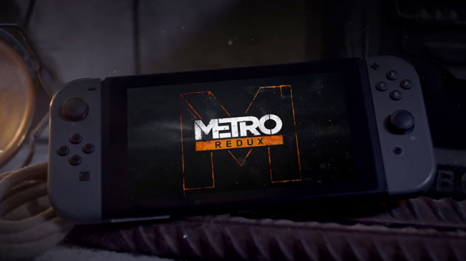 Metro Redux Nintendo Switch Art