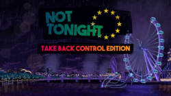 Not Tonight Take Back COntrol Edition Nintendo Switch Artwork