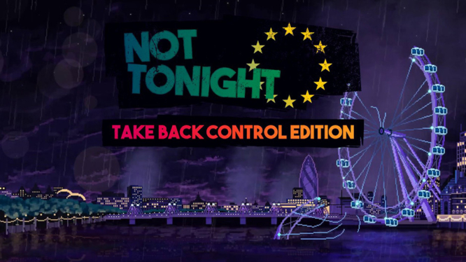 Not Tonight Take Back COntrol Edition Nintendo Switch Artwork