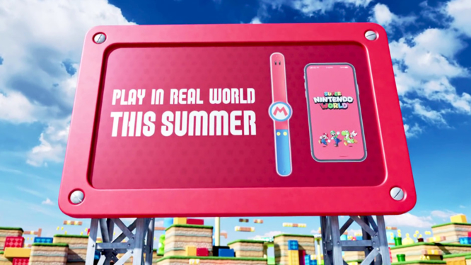 Super Nintendo World Power Up Band and App