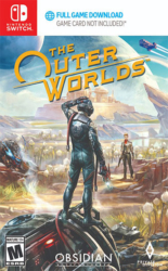 The Outer Worlds Nintendo Switch Boxart Cover