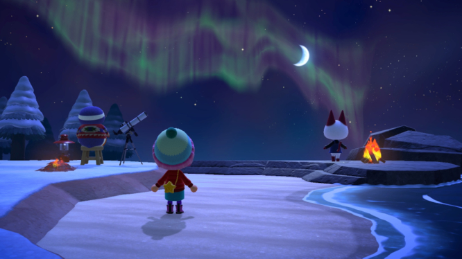 Northern Lights Animal Crossing