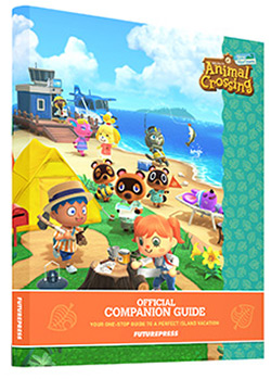 ANIMAL CROSSING: NEW HORIZONS Official Companion Guide Book