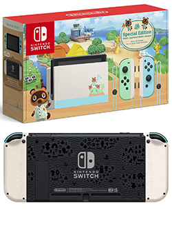 Nintendo Switch - Animal Crossing: New Horizons Edition