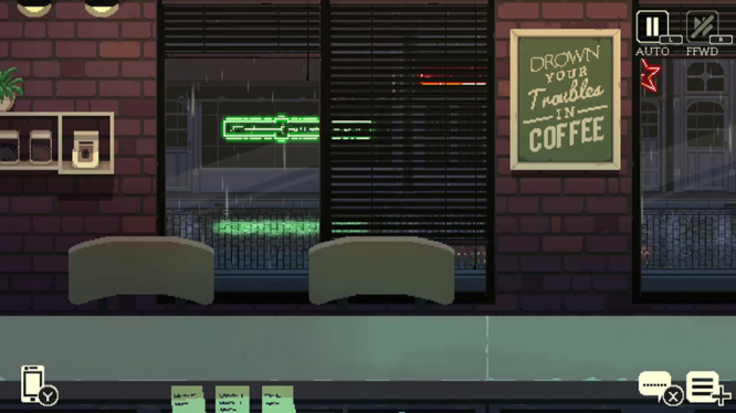 Coffee Talk Empty Shop