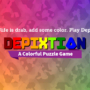 Depixtion title screen