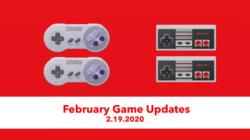 February SNES NES Nintendo Switch Online Games