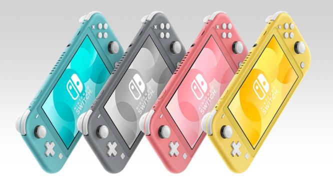 Nintendo Switch Lite Colours