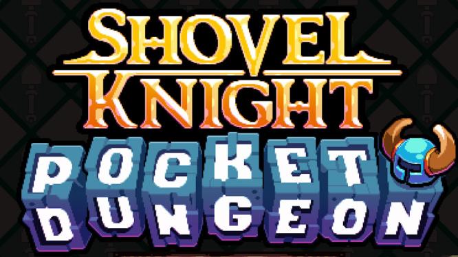 Shovel Knight Pocket Dungeon Title