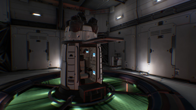The Turing Test Screenshot Shuttle