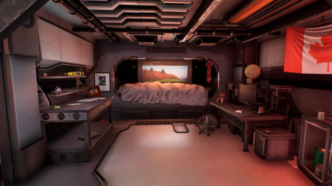 The Turing Test Dorm screenshot