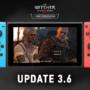 Witcher 3 Nintendo Switch Update 3.6