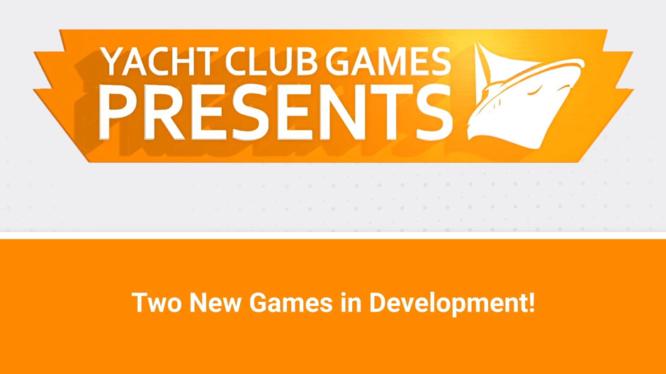Yacht Club Games new ip tease