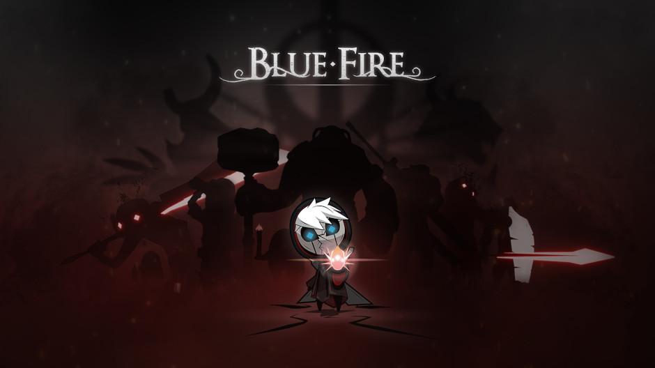 Blue Fire splash