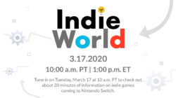 Indie World March 17, 2020