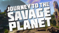 Journey to the Savage Planet title