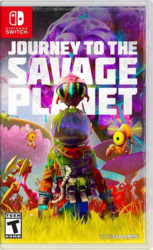 Journey to the Savage Planet switch boxart